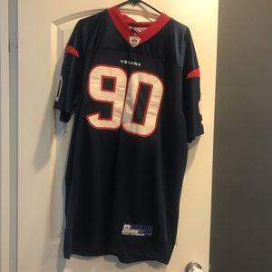 Texans On Field Jersey Mario Williams size 52